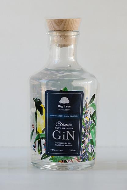 Big Tree Distillery Claude Navy Strength Gin