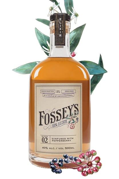 Fosseys Gin Distillery Fosseys Pepperberry Gin
