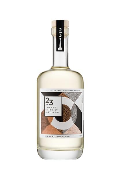 Twenty Third Street Distillery Barrel Aged Gin
