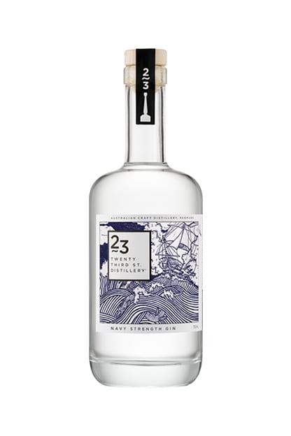 Twenty Third Street Distillery Navy Strength Gin