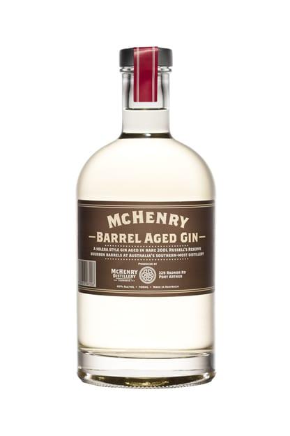 William Mchenry Sons Distillery Barrel Aged Gin