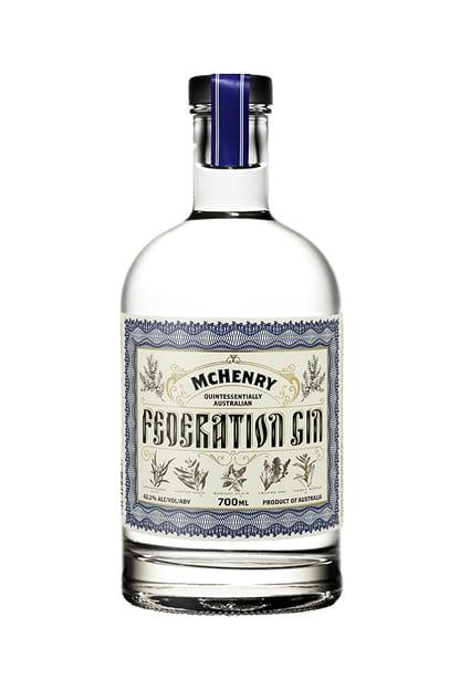 William Mchenry Sons Distillery Federation Gin