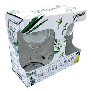 G&t Copa De Balon Front Side Of Packaging