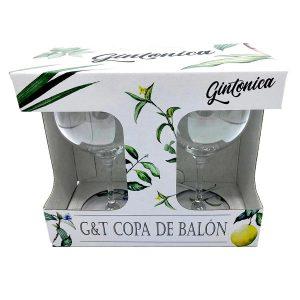 G&t Copa De Balon Front Top Of Packaging