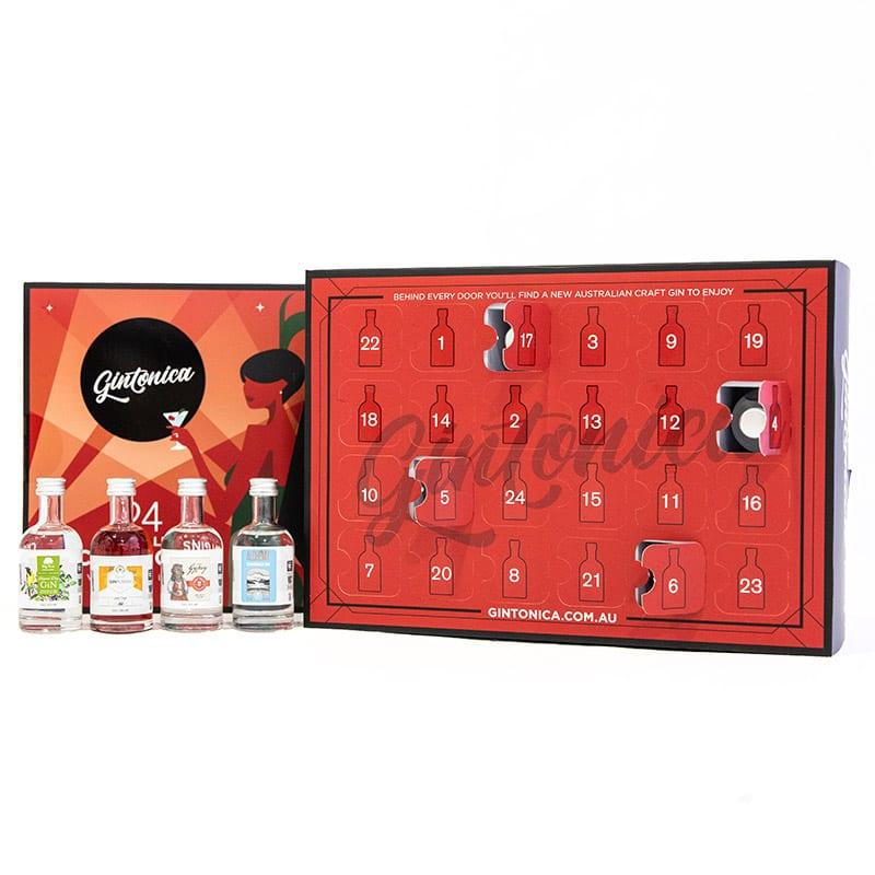 Gintonica Advent Calendar 24 Australian Craft Gin Selections 02
