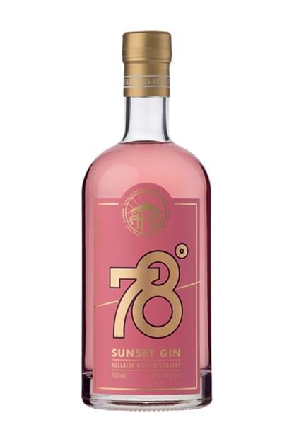 Adelaide Hills Distillery 78 Degrees Sunset Gin
