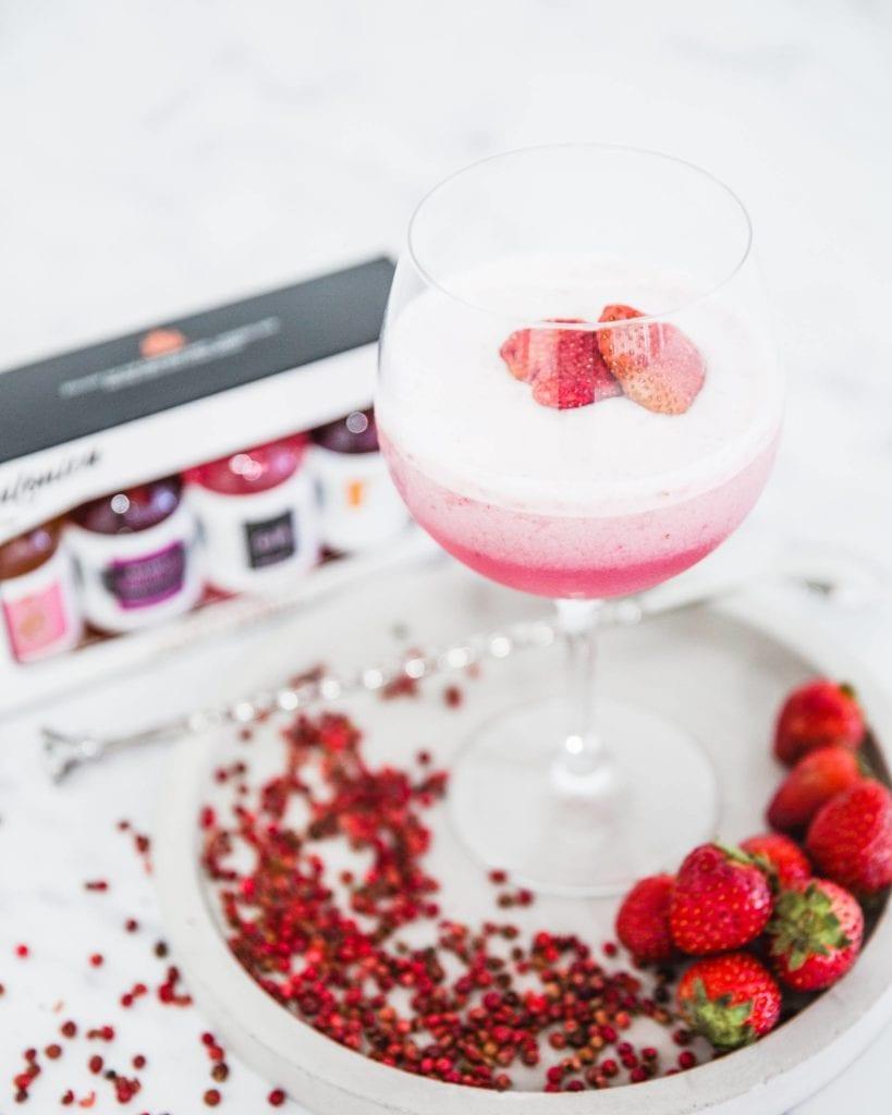Rose Pink Gin Sour